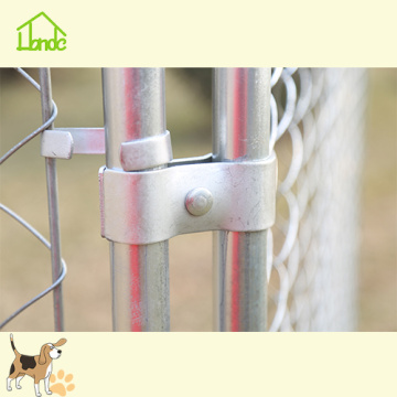 Large Outdoor Chain Link Dog Run