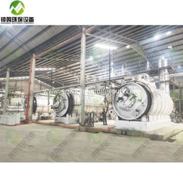 Pyrolysis of Waste Oil to Diesel Distillation Plant