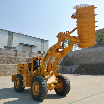 mine wheel loader 3ton underground mining transporter