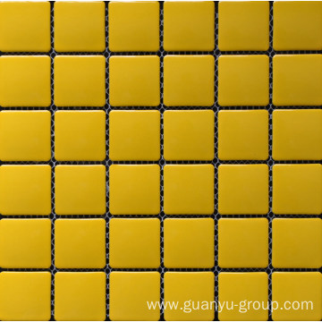 Pure Color Porcelain Mosaic Tile