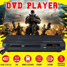 1080P Full HD USB HDMI DVD Player LED Display Multimedia Digital DVD Support HDMI CD SVCD VCD MP3 Function With Remote Control