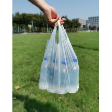 EN13432 Compostable Supermarket Plastic Bags