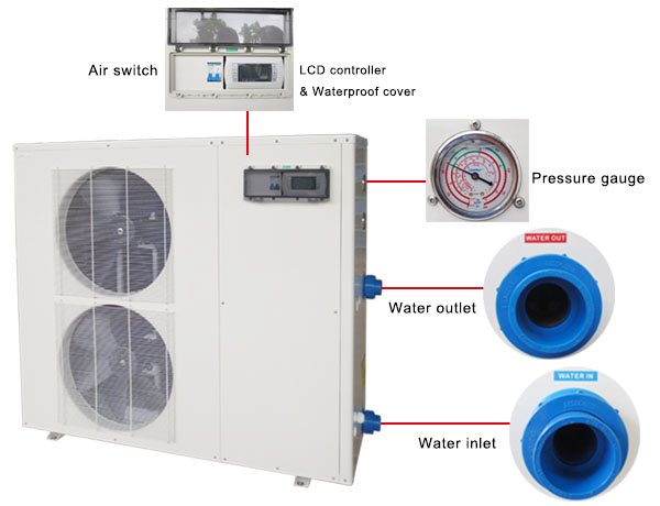 230 V Swimming Pool Heat Pump