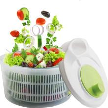 MOM'S HAND Salad Spinner Lettuce Greens Washer Dryer Drainer Crisper Strainer For Washing Drying Leafy Vegetables Kitchen Tools