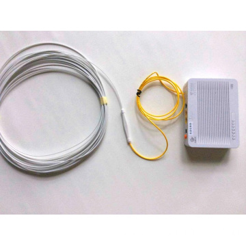 Drop cable fiber optic protection box