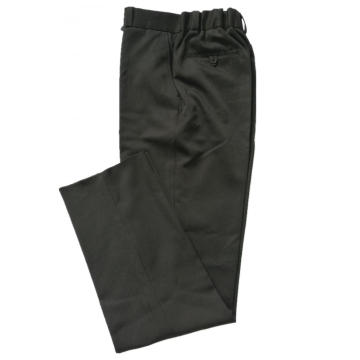 Polyester Pants with Elastic Tape Back Suit Pants