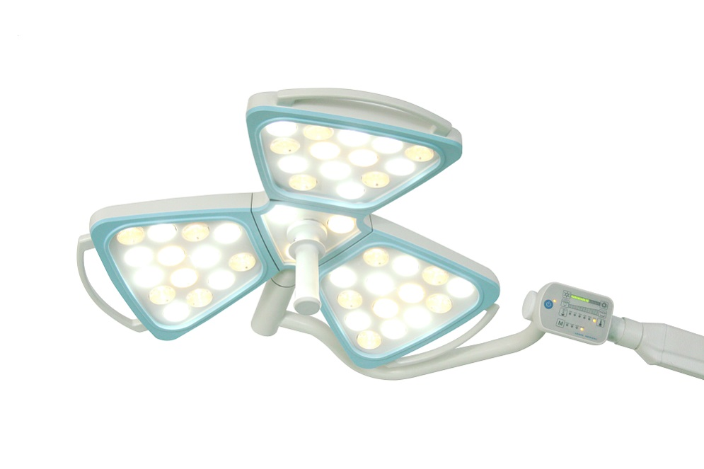Flower type surgical lamp