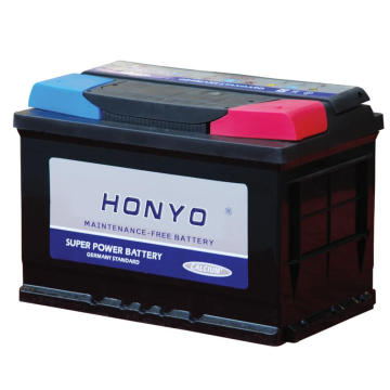 12V 54Ah MF Car Batteries