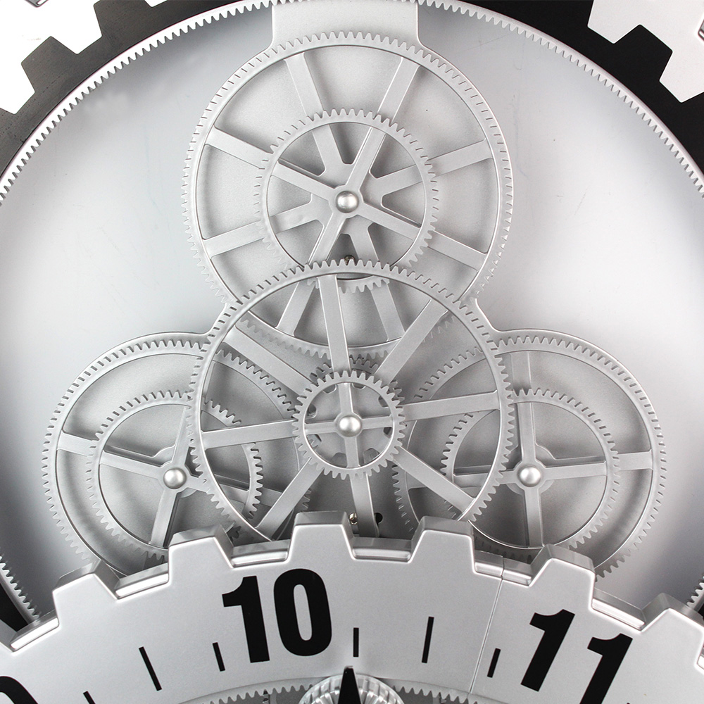 Moving Gear Wall Clock India