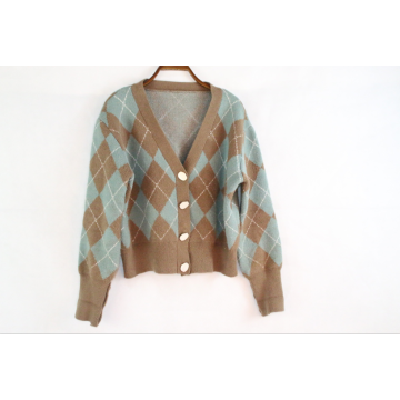 Hotsale Custom Open Front Cardigan Knit Sweater