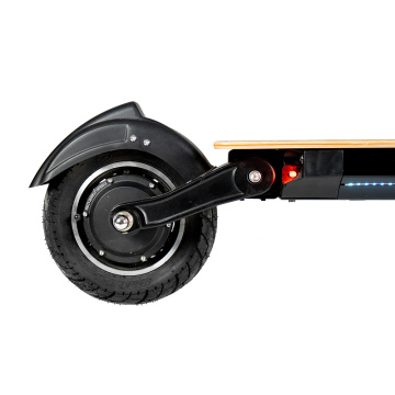 Fat Tire Folding dual motor electric scooter
