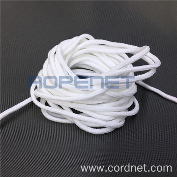 High Quality Spandex Elastic Ear Tie Cord Face Mask String 3mm