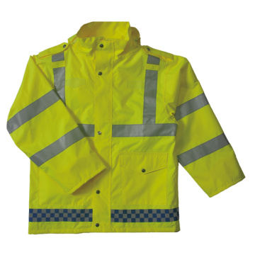 100% polyester oxford waterproof safety vest