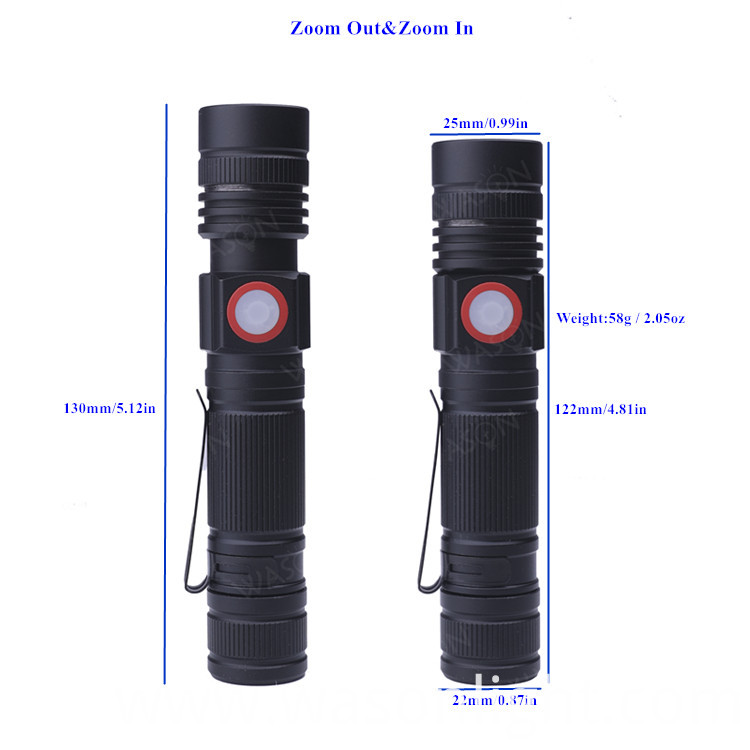 Focusable Flashlight
