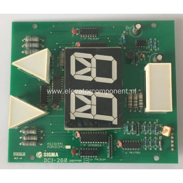 COP Display Board for LG Sigma Elevators DCI-260