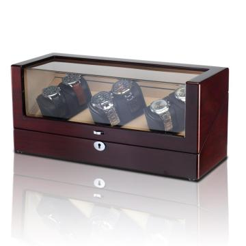 LED Watch Winder taske til 6 ure