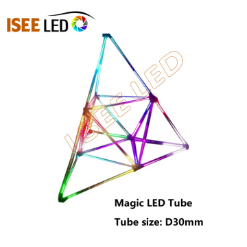 Multi Direction DMX512 3D Tube Light