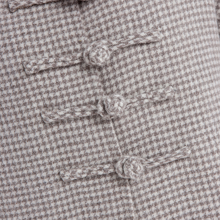 Details of the new simple cashmere overcoat