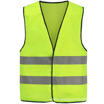 PVC X-ray Thread Yellow Reflective Safety Vest