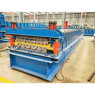 Customized Double Deck Roof Panel Roll Forming Machine