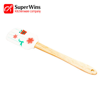 Heat Resistant Kitchen Cooking Tool Silicone Spatula