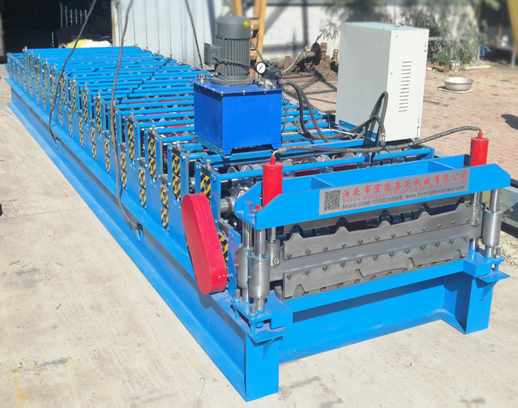 Double Tile Making Machine