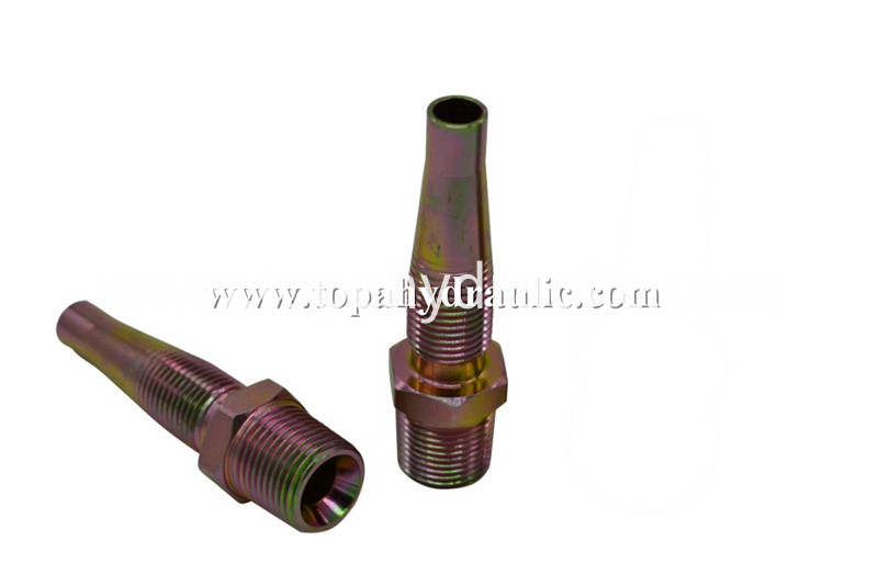 Reusable Fittings Barb Hydraulic Fitting