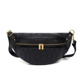 Women Elegant Leather Fanny Pack Cute Waist Pouch