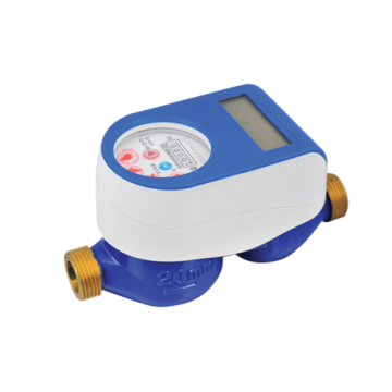 IC Card Blue Smart Water Meter