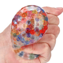 Spongy Rainbow Ball Toy Squeezable Stress Toy Stress Relief Ball For Fun 5ml Good Qualit Squeeze Toy Stress Relief Squishies Toy