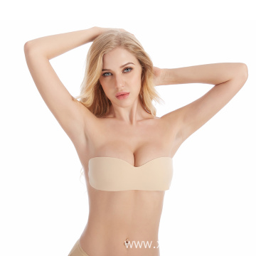Push-UP Self Adhesive Silicone One Piece Invisible Bra