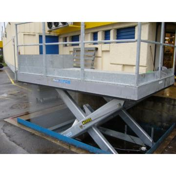 Loading dock gate  hydraulic