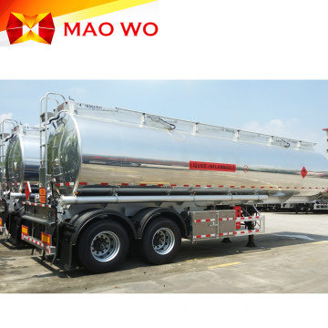 Aluminium 3axles Fuel Tanker Trailer for Sale