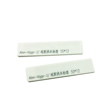 UHF Washable Silicon RFID Flexible Laundry Tag