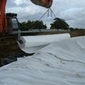 Geotextile made from decomposition-resistant synthetic