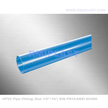 Clear PVC Pipe Fitting