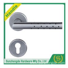 SZD STH-123 Top Quality American Style Rosette Stainless Steel Door Handle Factory with cheap price