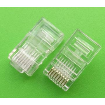 RJ45 8P8C Modulaire stekker Male cat5e UTP-connector