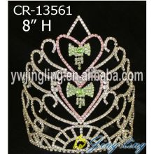 Wholesale Rhinestone Bell Christmas Pageant Crowns