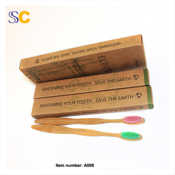 New Design 100% Eco Friendly Bamboo Toothbrush