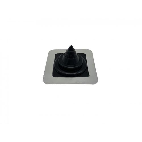 EPDM/SILICONE rubber roof flashing for pipe 0-35mm