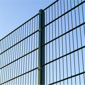 cheap custom double horizontal wire mesh fence panel