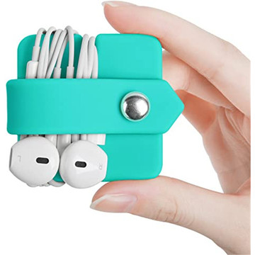 Silicone Earphone Organizer Earphone Wrap Winder