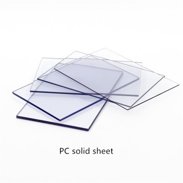 solid polycarbonate sheet thickness