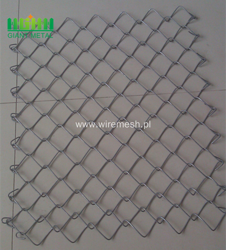 Security Used PVC Chain Link Fence Panels