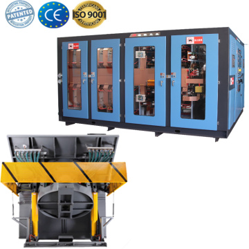 Energy saving aluminum melting electric induction furnace