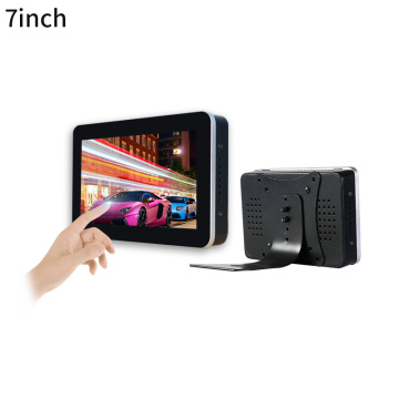 Metal VESA mount 7 inch touchscreen monitor
