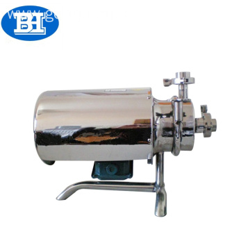 Food grade stainless steel milk self priming pumps