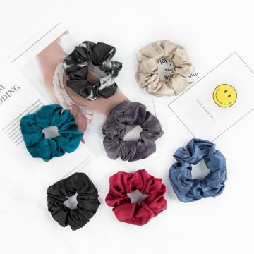 Silk Mulberry Scrunchies Elastic Assorted Colors for Hair