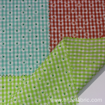 100 cotton lining yarn dyed check shirting fabrics